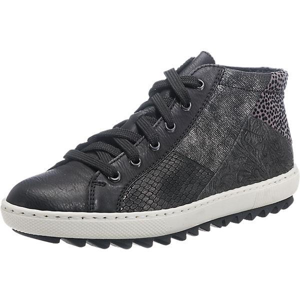 rieker rieker Sneakers schwarz-kombi