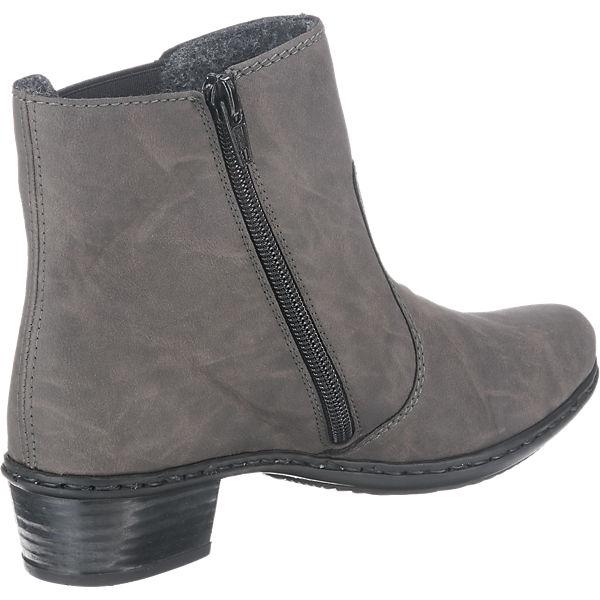 rieker, Gute rieker Stiefeletten, grau  Gute rieker, Qualität beliebte Schuhe 78b987