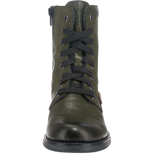 grün rieker rieker rieker rieker Stiefeletten Stiefeletten xqwgnR0Y