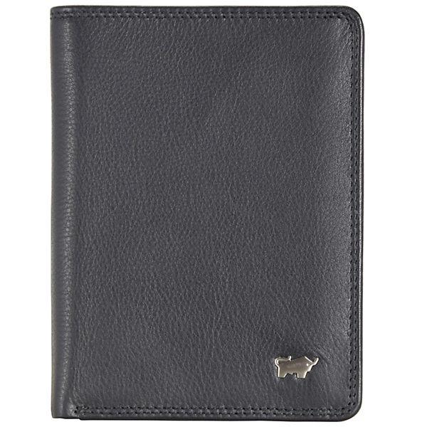 Braun Büffel Braun Büffel Golf Geldbörse Leder 9,5 cm schwarz