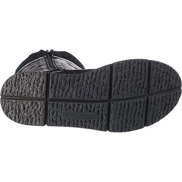 camel active, camel  active Balance Stiefel, schwarz  camel Gute Qualität beliebte Schuhe ec4e2f