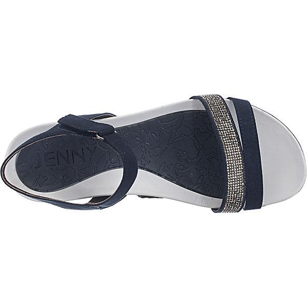 JENNY, Komfort-Sandalen, Nepal Komfort-Sandalen, JENNY, blau Gute Qualität beliebte Schuhe 2659b7