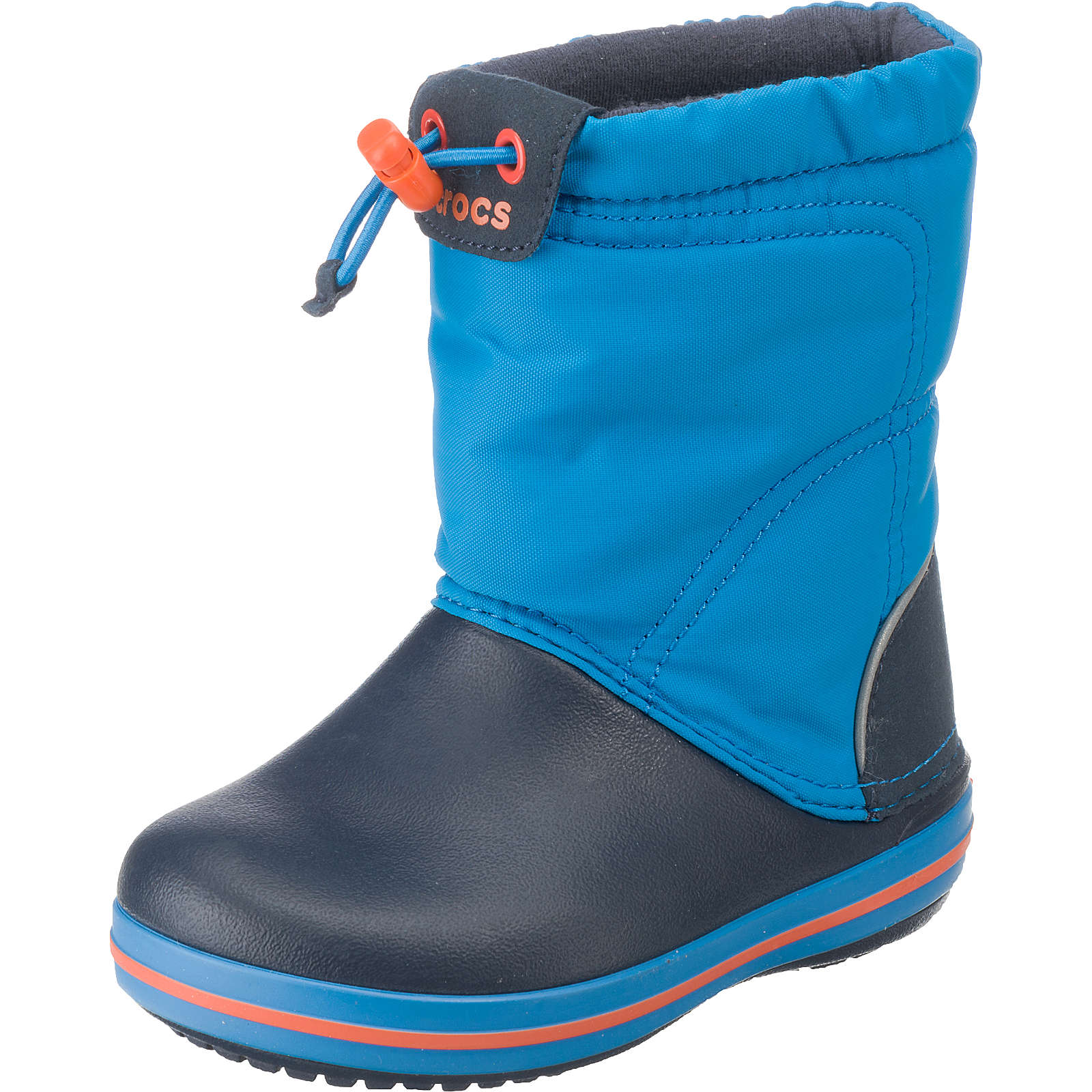 crocs kinder winterstiefel crocband lodgepoint boot blau junge g nstig schnell einkaufen. Black Bedroom Furniture Sets. Home Design Ideas