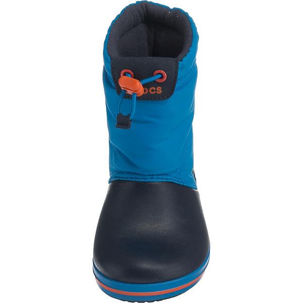 crocs Kinder Winterstiefel Crocband Lodgepoint Boot blau