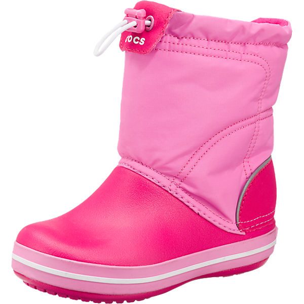 the latest edf5c 510b5 crocs, Kinder Winterstiefel Crocband Lodgepoint Boot, pink