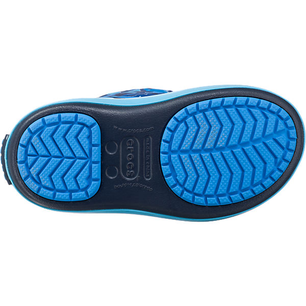 crocs kinder winterstiefel crocband lodgepoint grafic blau mirapodo. Black Bedroom Furniture Sets. Home Design Ideas