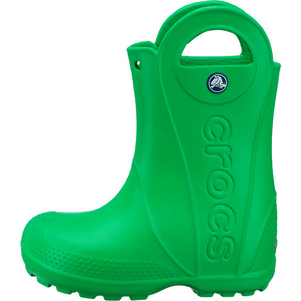 crocs kinder gummistiefel handle it rain boot gr n. Black Bedroom Furniture Sets. Home Design Ideas