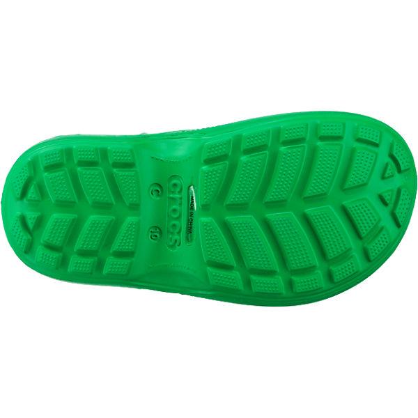 crocs Kinder Gummistiefel Handle It Rain Boot grün