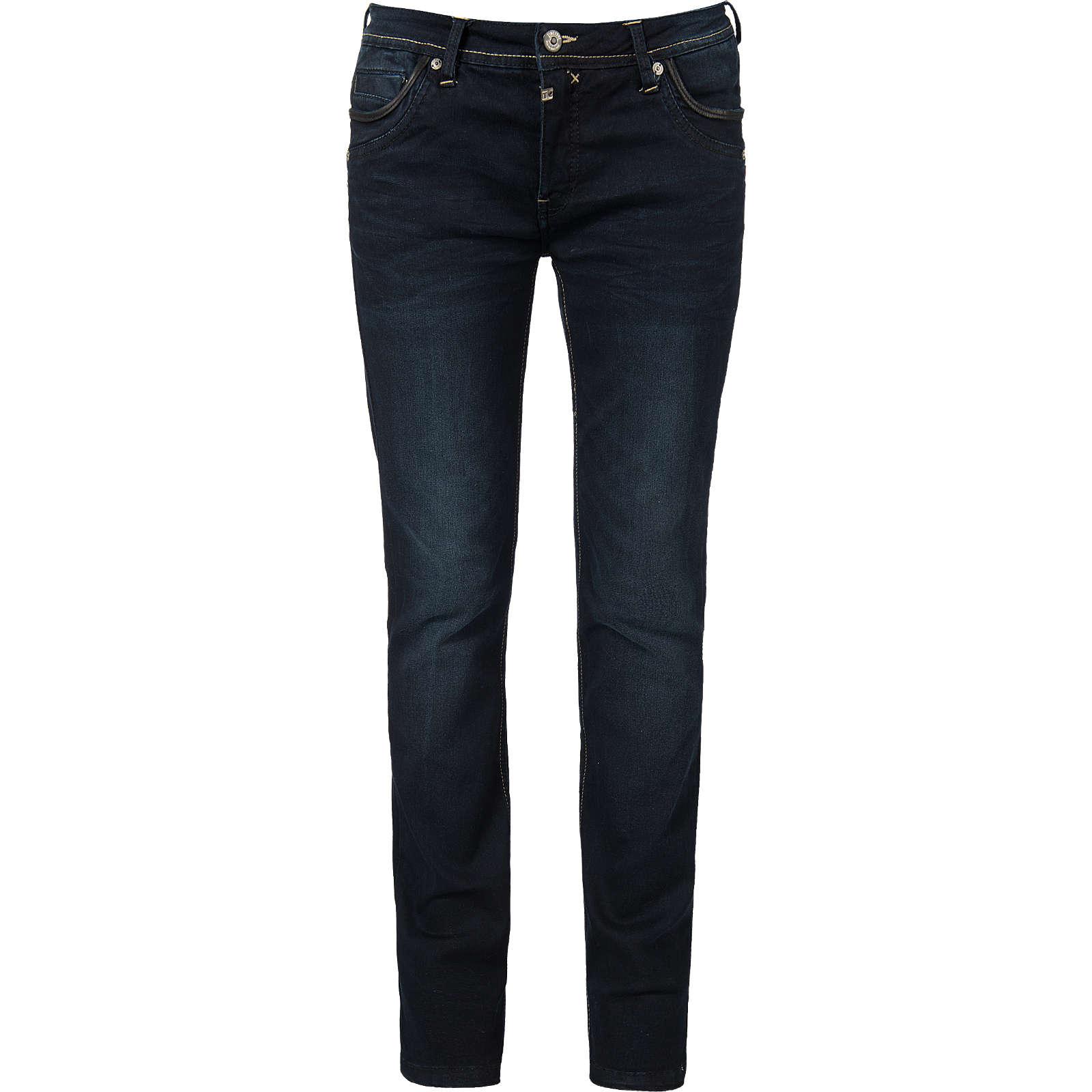 TIMEZONE Jeans Tahila Straight blau Damen Gr. W26/L32