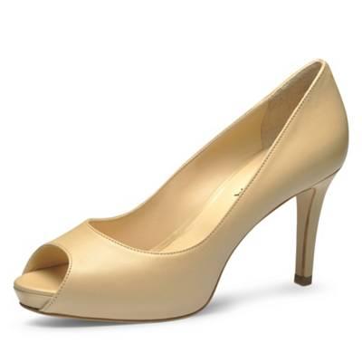 Evita »ALESSANDRA« Peeptoepumps, natur, beige