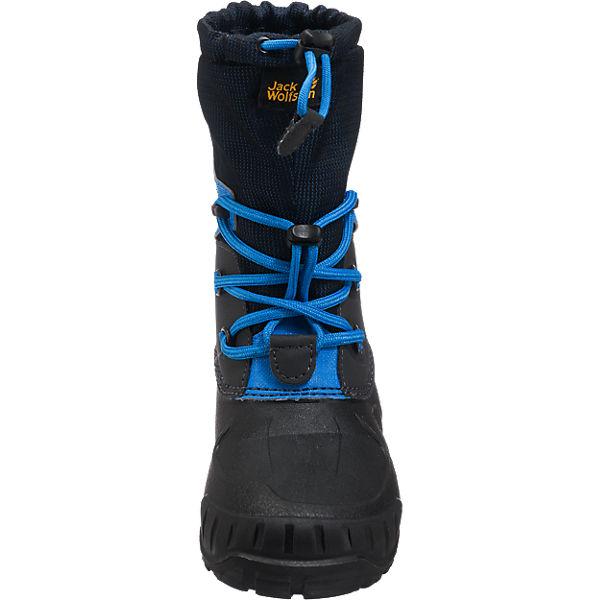 Jack Wolfskin Kinder Stiefel ICELAND blau