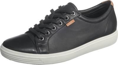 ecco, Ecco Soft 7 Sneakers Low, schwarz