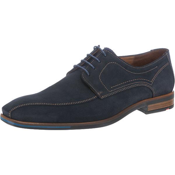 LLOYD Davenport Business Schuhe dunkelblau Herren Gr. 41 Sale Angebote Groß Döbbern