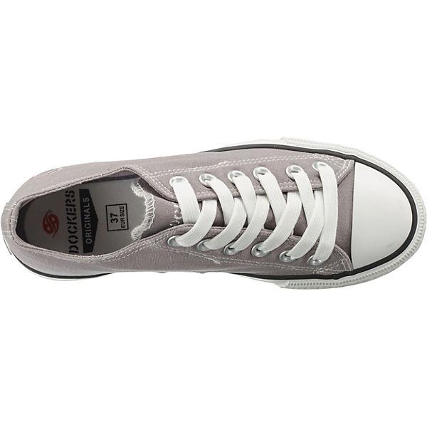 by Gerli hellgrau Low Dockers Sneakers 5xgX4Aw
