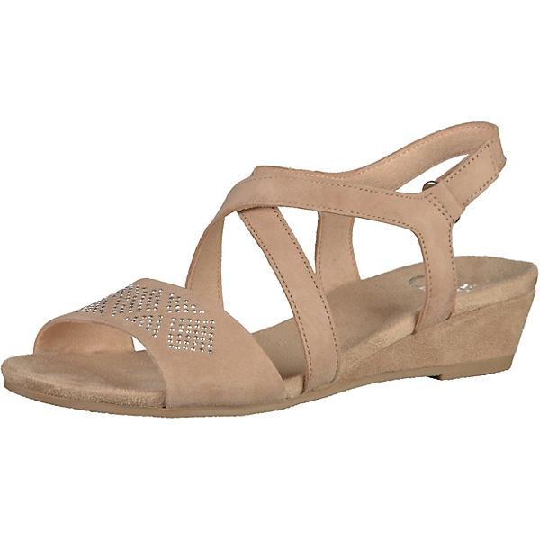 Hermsdorf Angebote CAPRICE Sandaletten beige Damen Gr. 40,5