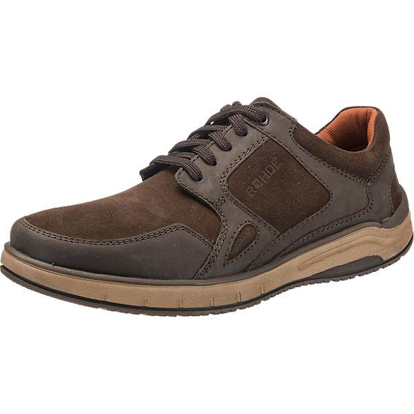 ROHDE Fabriano Freizeit Schuhe braun Herren Gr. 43 Sale Angebote Drebkau