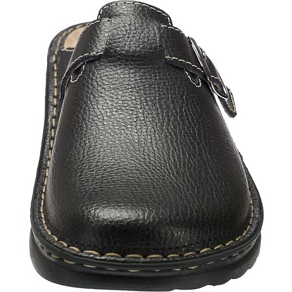 ROHDE, Augsburg Komfort-Pantoletten, schwarz schwarz schwarz   362a00