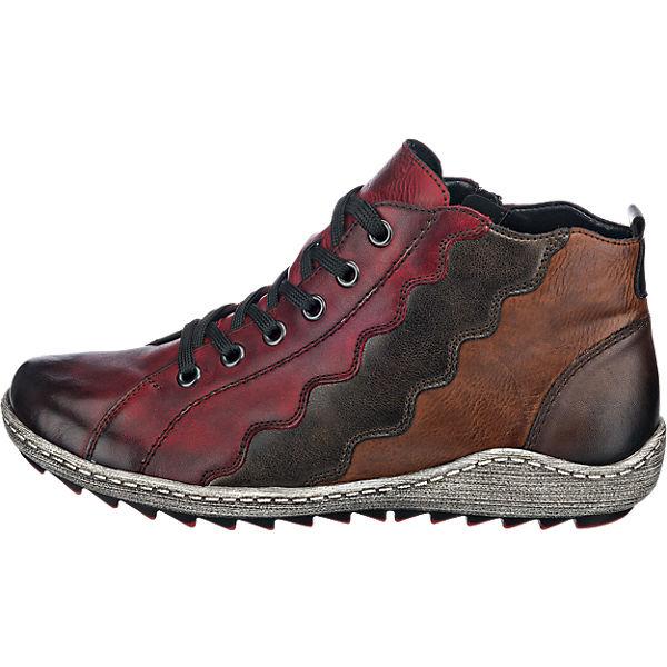 remonte remonte Stiefeletten rot-kombi  Gute Qualität beliebte Schuhe