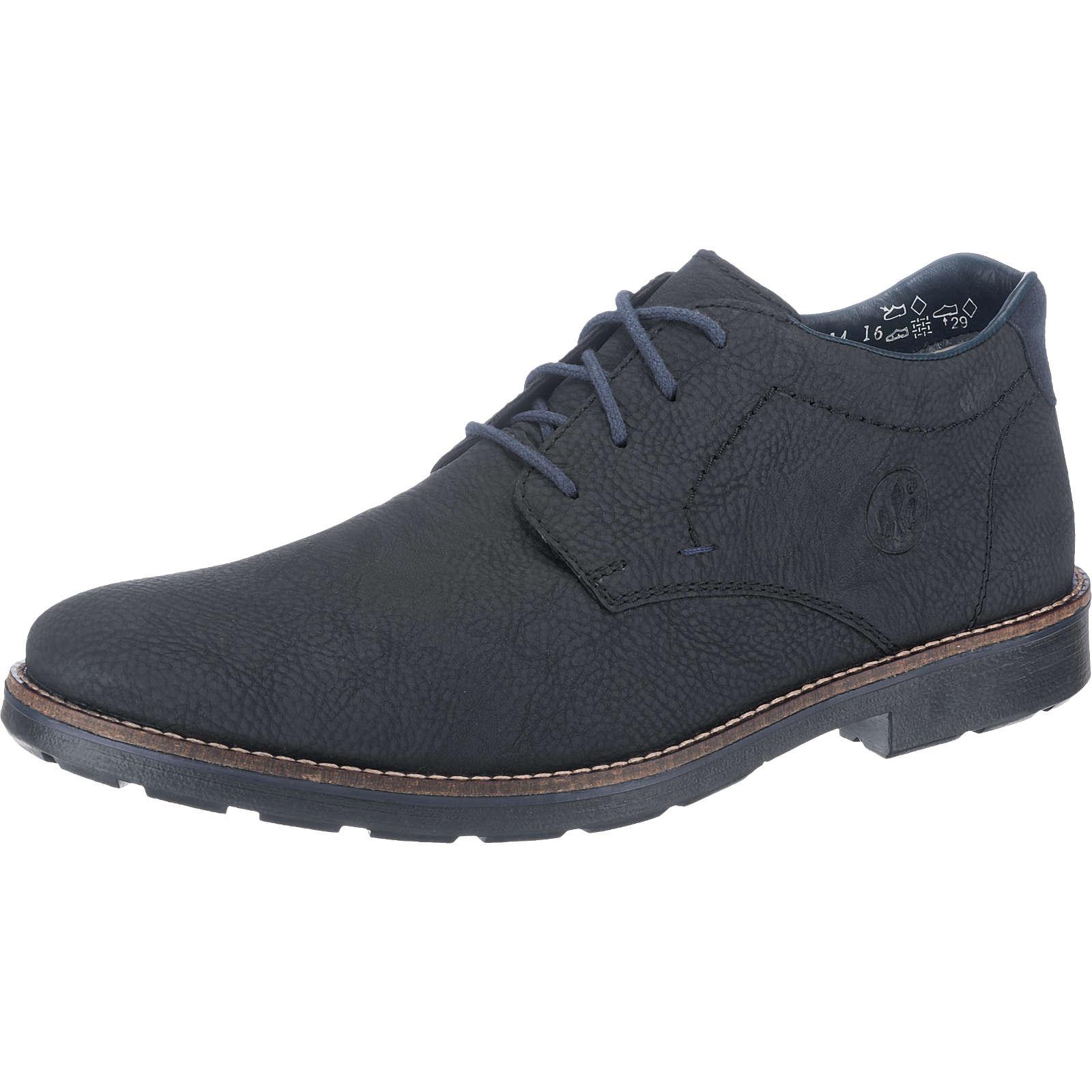 rieker Freizeit Schuhe schwarz Herren Gr. 45