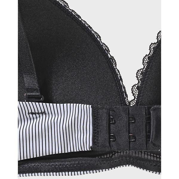 ohne schwarz T Lismore Shirt BH BODYWEAR Bügel weiß ESPRIT PfqCq