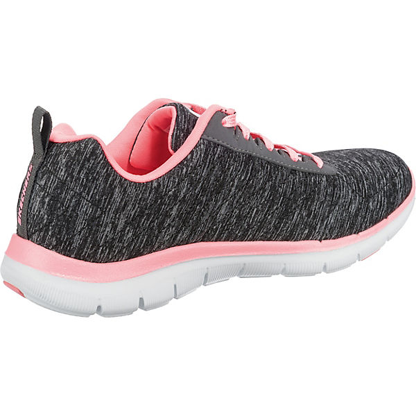 SKECHERS, FLEX schwarz APPEAL 2.0 Sneakers Low, schwarz FLEX   54c4d9