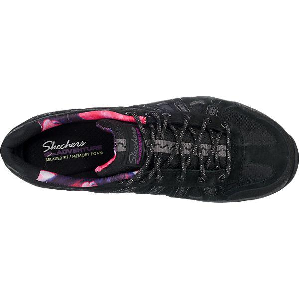 SKECHERS SKECHERS QUARTZCitrine Sneakers schwarz