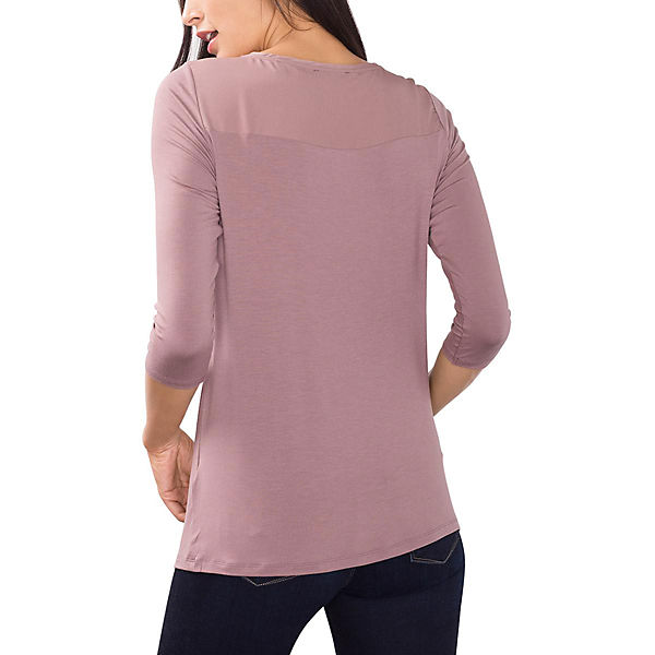 Arm Shirt 4 collection ESPRIT 3 rosa pqFYAnxtzw