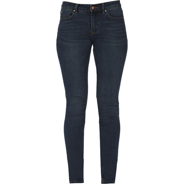 VILA Slim denim blue Jeans dark rax5rq