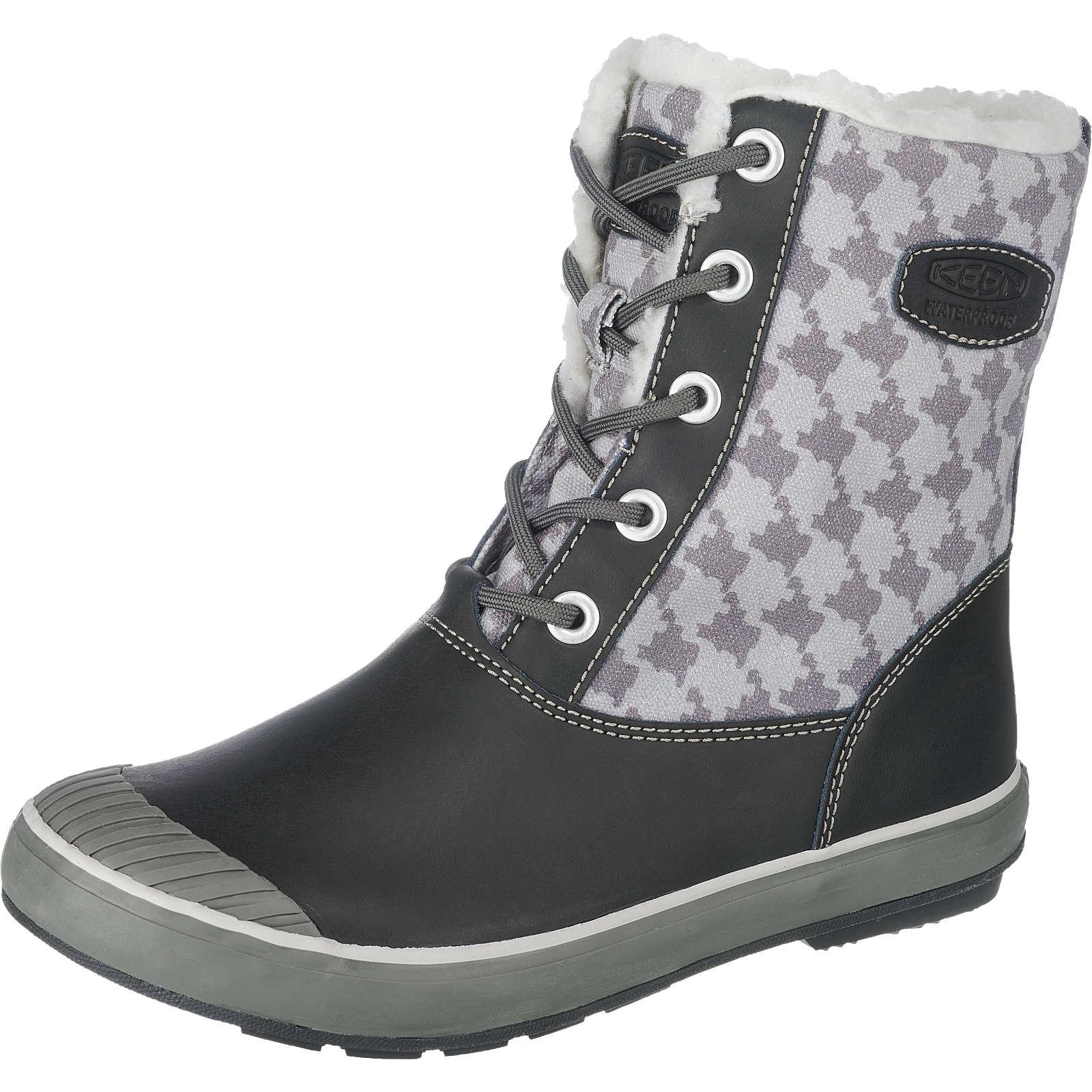 KEEN Elsa Boot Waterproof Stiefel schwarz-kombi Damen Gr. 39,5