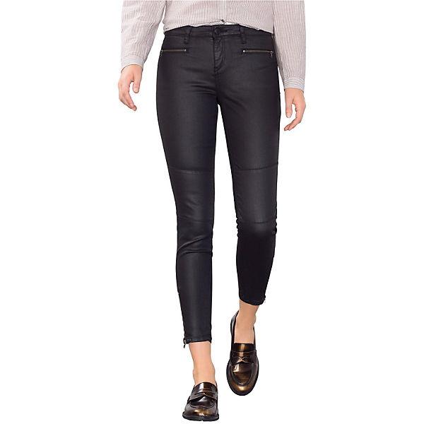 Medium Skinny Jeans schwarz Rise ESPRIT xRAwZa