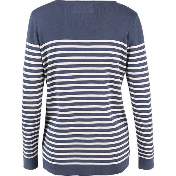 blau BASEFIELD blau Pullover weiß Pullover weiß BASEFIELD 1XqwFcnxWU
