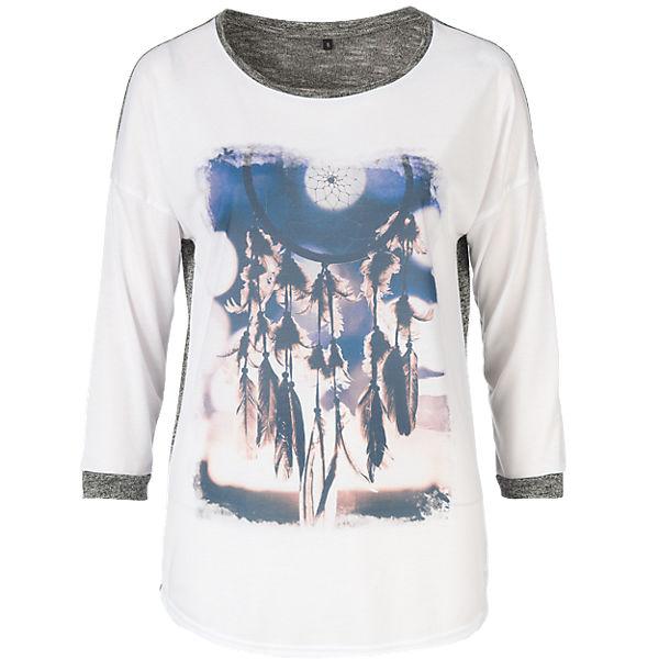 grau Arm BASEFIELD 3 weiß 4 Shirt 4wnTTX6qBE