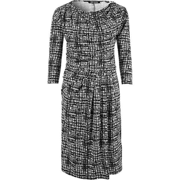 BLUE SEVEN Kleid SEVEN schwarz weiß schwarz BLUE weiß Kleid qUrzfw6U