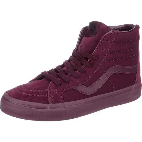 VANS U SK8-Hi Reissue Zip Sneakers bordeaux Damen Gr. 36,5