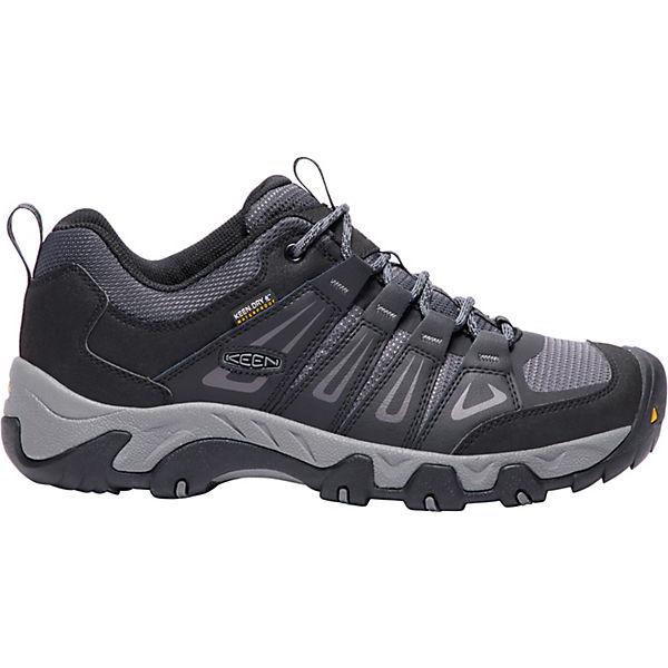 KEEN, Oakridge Gute WP Trekkingschuhe, schwarz/grau  Gute Oakridge Qualität beliebte Schuhe f0e0b2