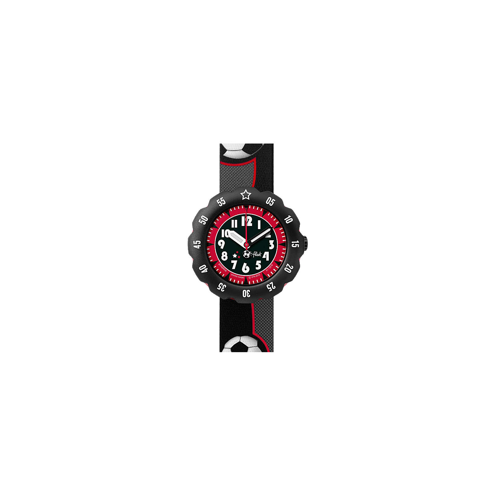 FLIK FLAK Armbanduhr für Jungen SOCCER STAR sch...