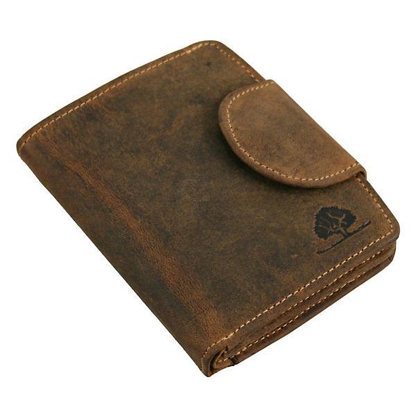 2c771585bb184 Greenburry Vintage Geldbörse Leder 10 cm