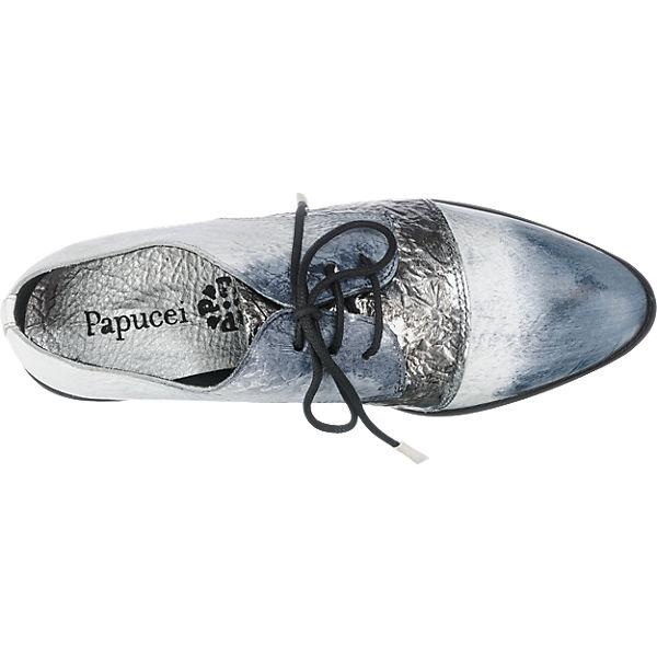 Papucei Papucei weiß weiß Halbschuhe kombi kombi Papucei Papucei Papucei Halbschuhe 6O6wX