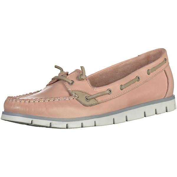 MARCO TOZZI Mokassin mit flexibler Laufsohle für Mädchen rosa