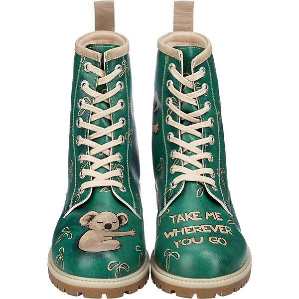 Dogo Shoes Dogo Shoes Koala Stiefel grün