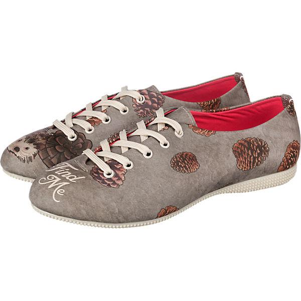 Dogo Shoes Dogo Shoes find me Halbschuhe grau-kombi