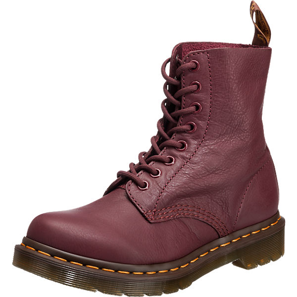 PASCAL Virginia CHERRY RED Schnürstiefeletten