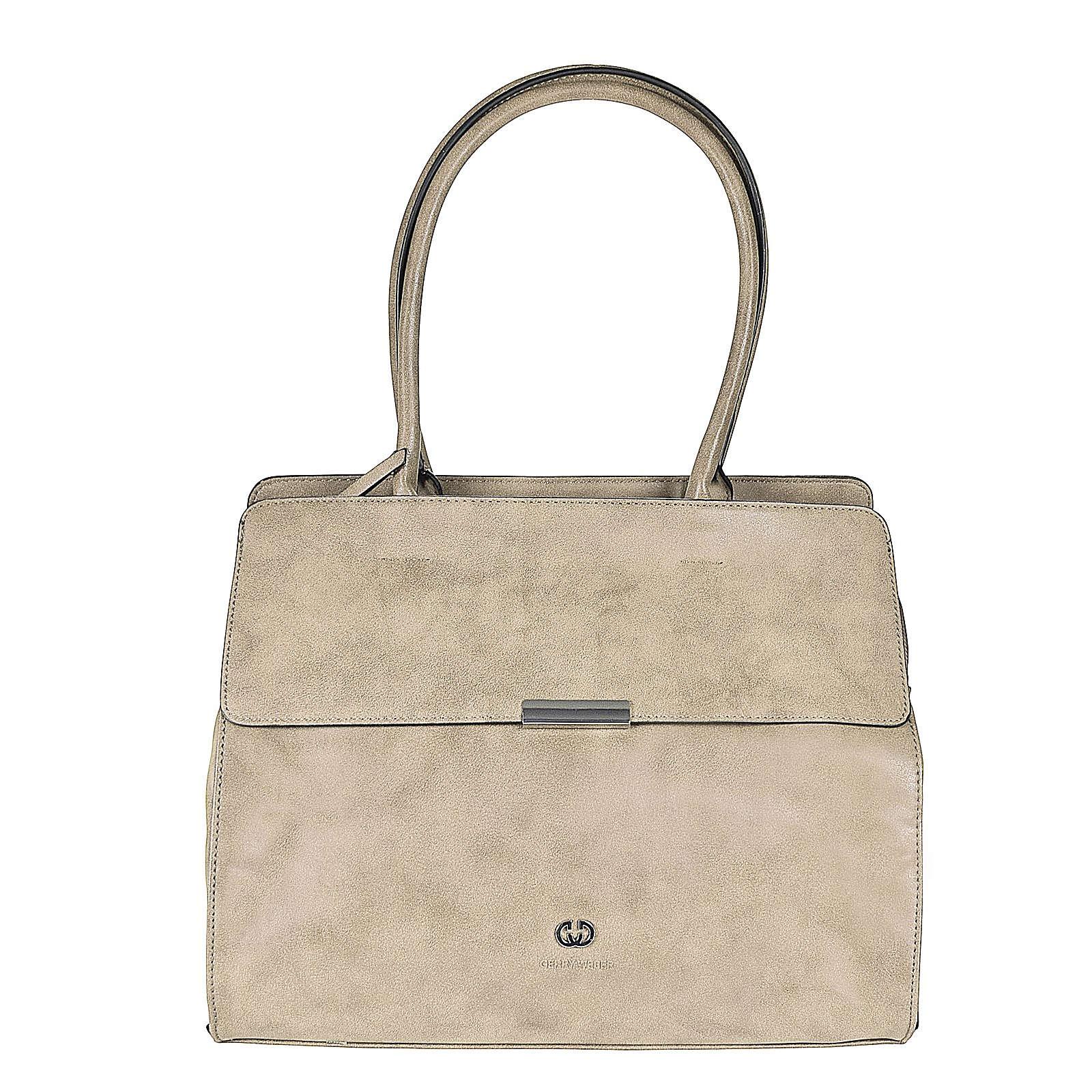 Soft Breeze Shopper Tasche 37 cm Gerry Weber light grey jetztbilligerkaufen