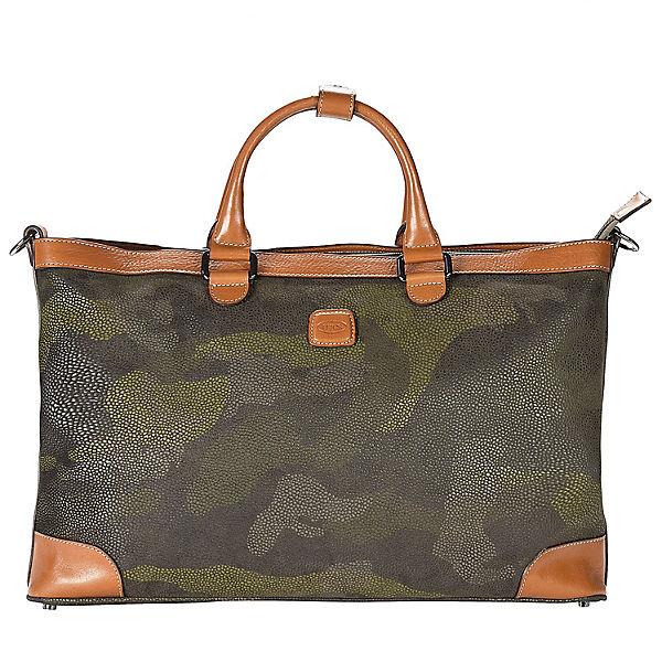 Bric's Bric's Life Milano Shopper Tasche 44 cm grün