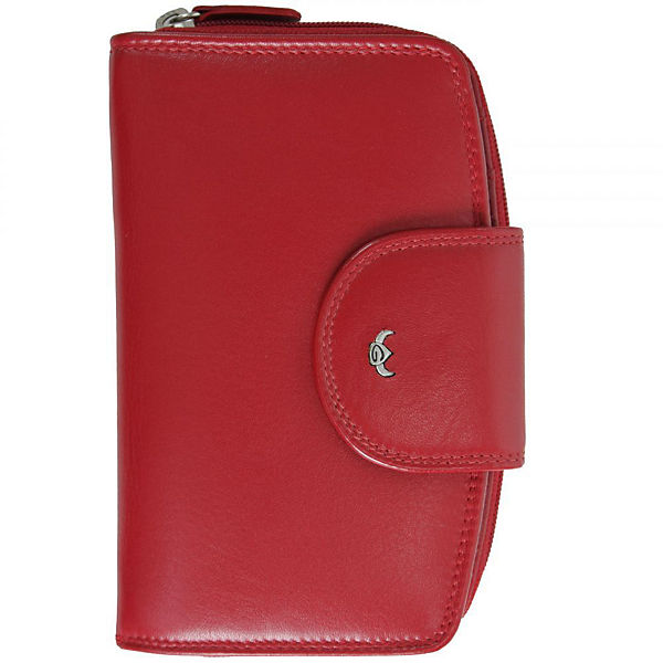 Golden Head Golden Head Polo Geldbörse 9,5 cm Leder rot