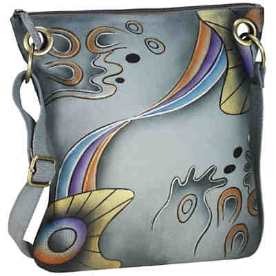 GreenLand NATURE Art + Craft Henkeltasche Shopper Leder 29 cm