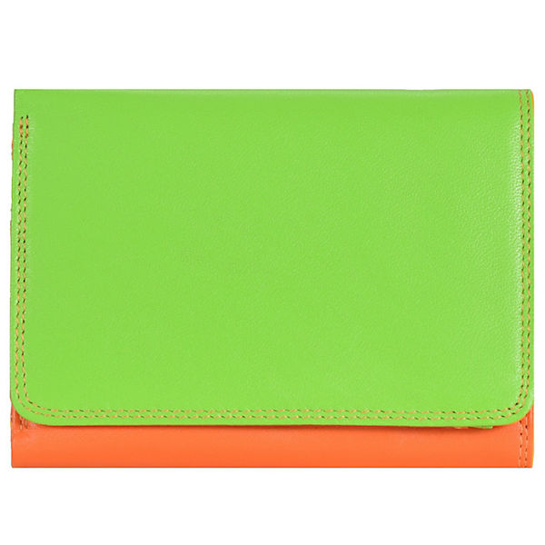 Mywalit Mywalit Medium Tri-fold Wallet Geldbörse Leder 11 cm mehrfarbig
