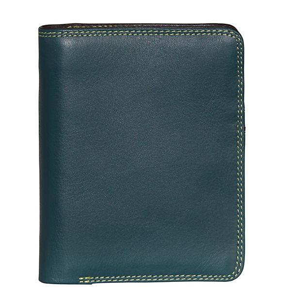 Mywalit Mywalit Medium Wallet Geldbörse Leder 11 cm mehrfarbig
