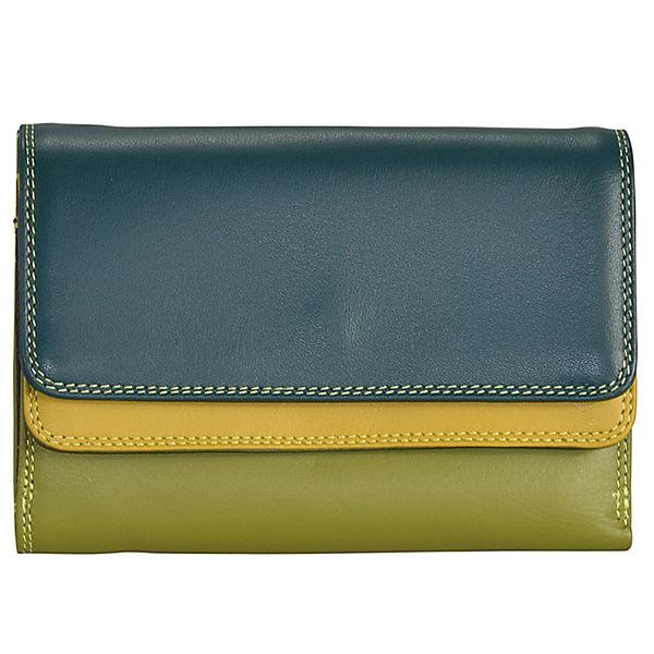 Mywalit Mywalit Double Flap Wallet Geldbörse Leder 13 cm mehrfarbig