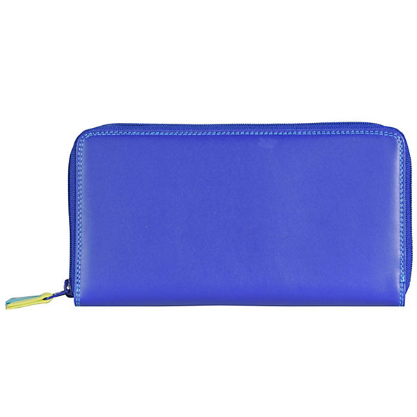 Mywalit Large Double Zip Around Purse Geldbörse Leder 18 cm